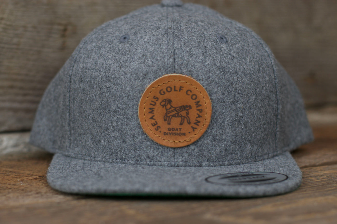 Seamus Goat Division Snapback Hat - Grey ac4a7d984652