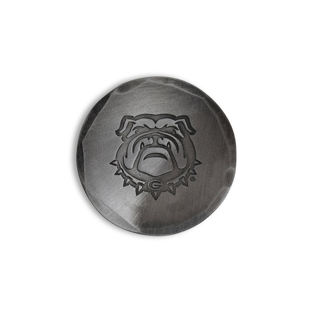 Hand Forged® University of Georgia Bulldog Ball Mark - Steel