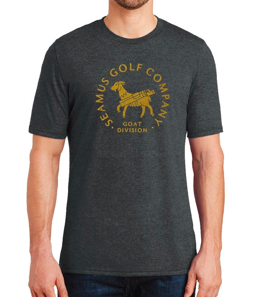 Seamus Goat Division T-Shirt - Charcoal Heather