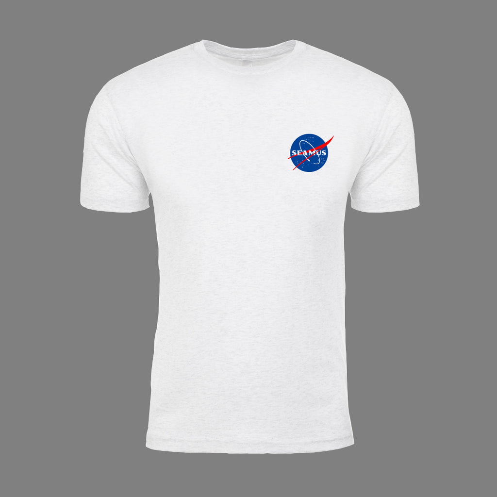 Golf on the Moon Shirt- White