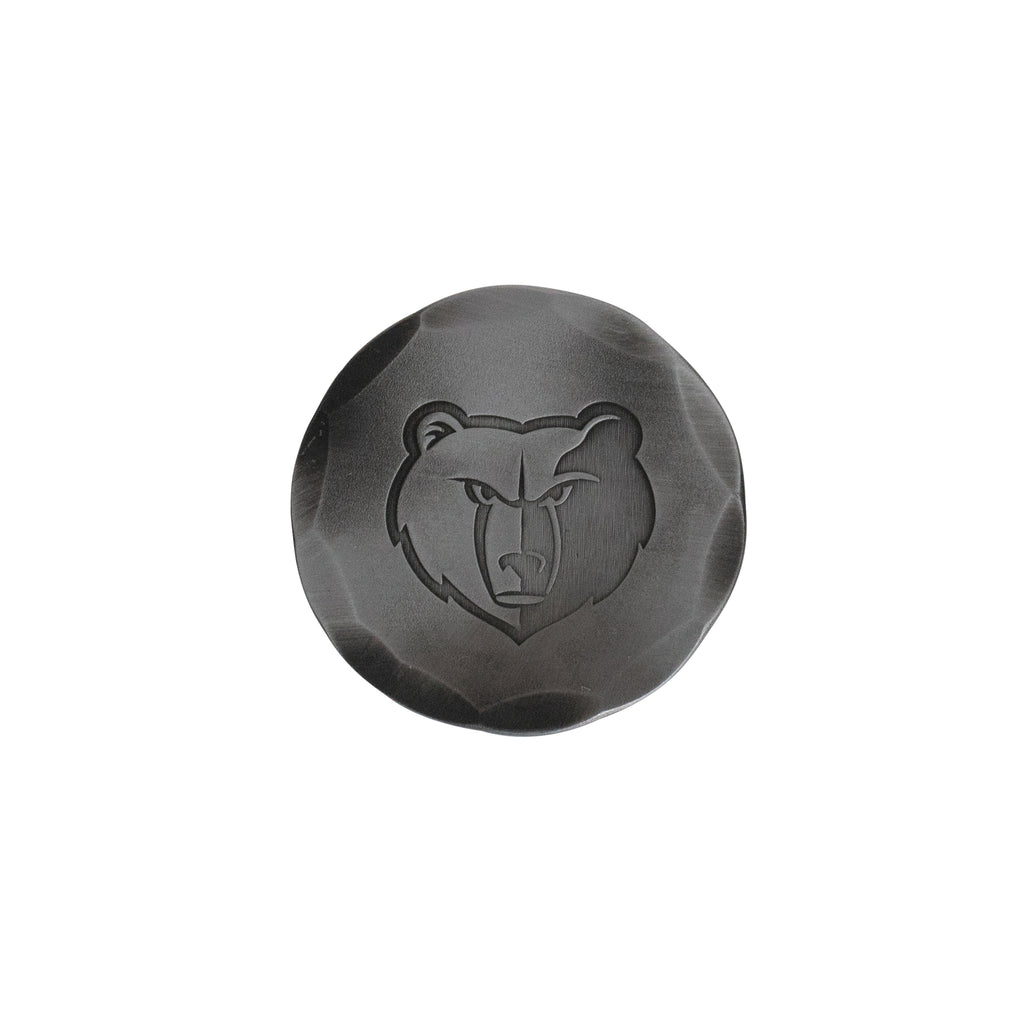 Hand Forged® Memphis Grizzlies Ball Mark - Steel