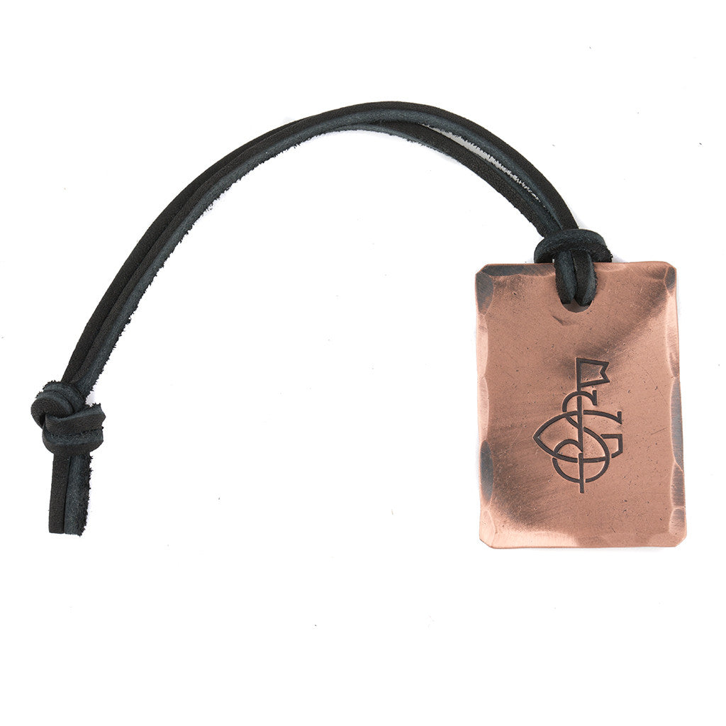 Hand Forged® Petite Bag Tag - Copper
