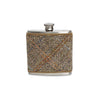 Harris Tweed Glen Plaid Wrapped Flask
