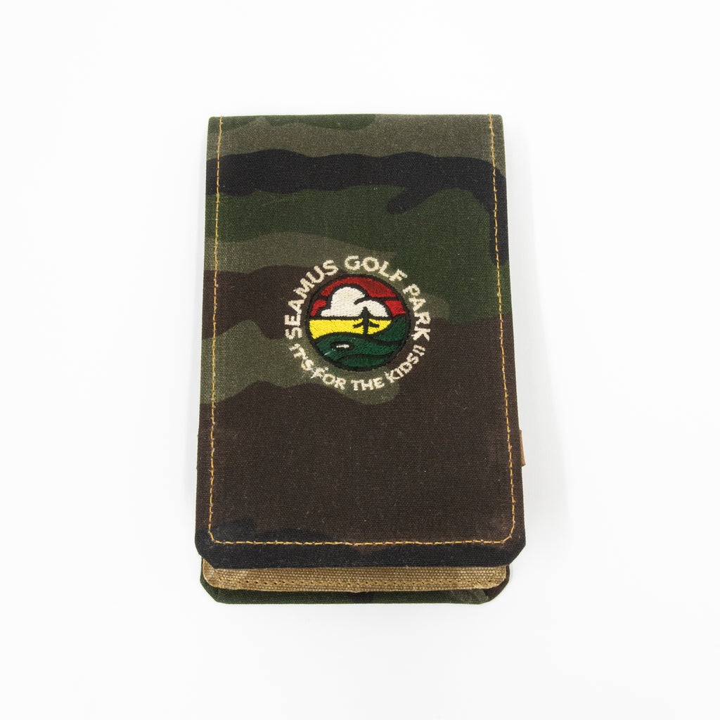 Seamus Golf Park Yardage Book Cover