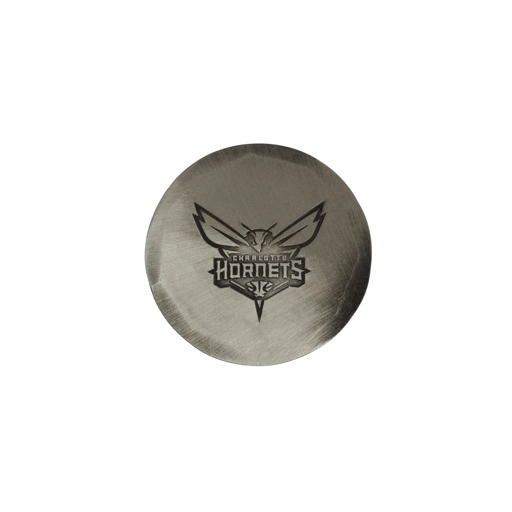 Hand Forged® Charlotte Hornets Ball Mark - Nickel