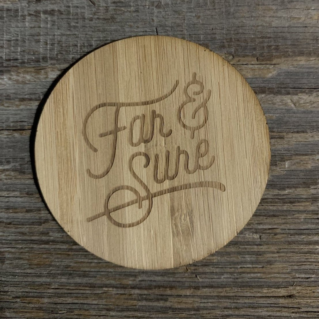 Far & Sure Bamboo Sticker