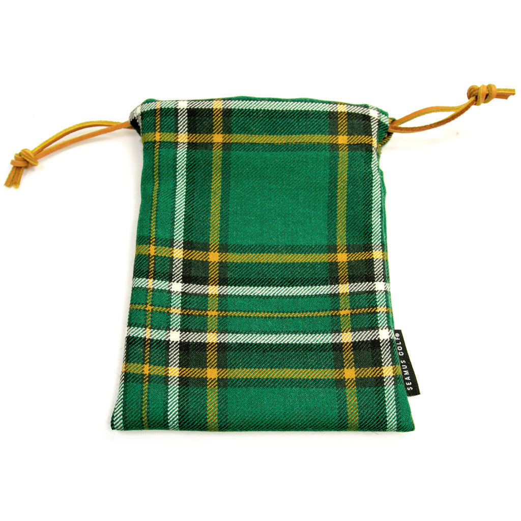 Irish National Tartan Pouches