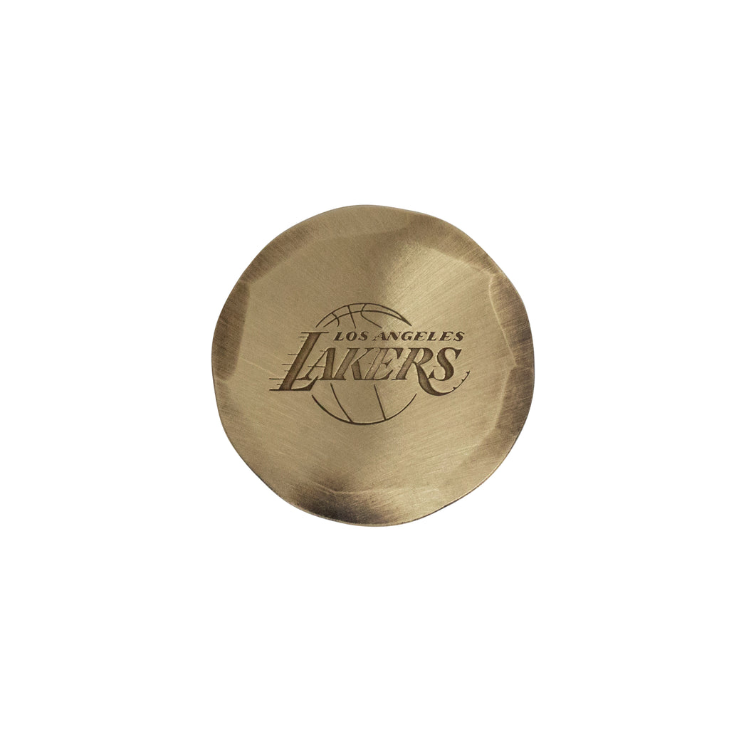 Hand Forged® Los Angeles Lakers Ball Mark - Bronze