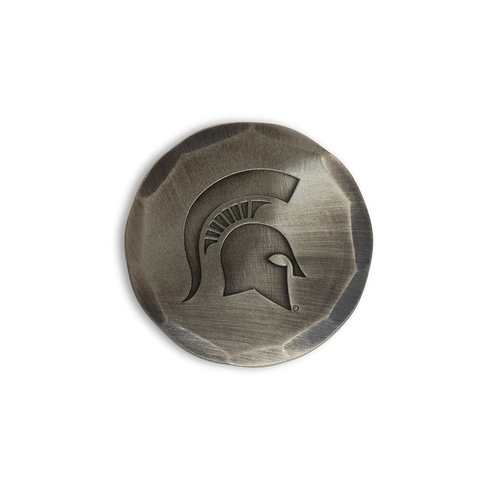 Hand Forged® Michigan State University Spartan Ball Mark - Nickel