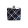 MacDonald Lord of The Isles Tartan Wrapped Flask