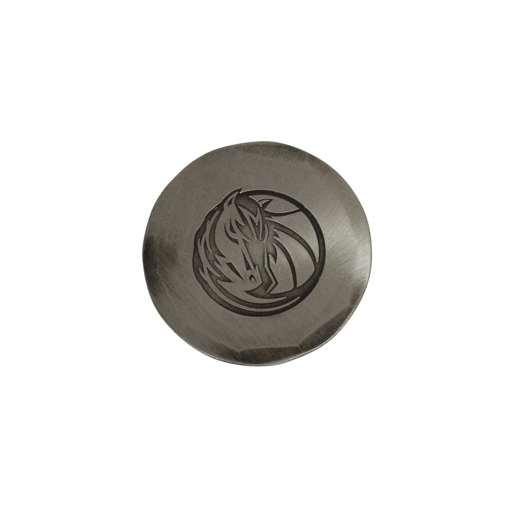 Hand Forged® Dallas Mavericks Ball Mark - Nickel