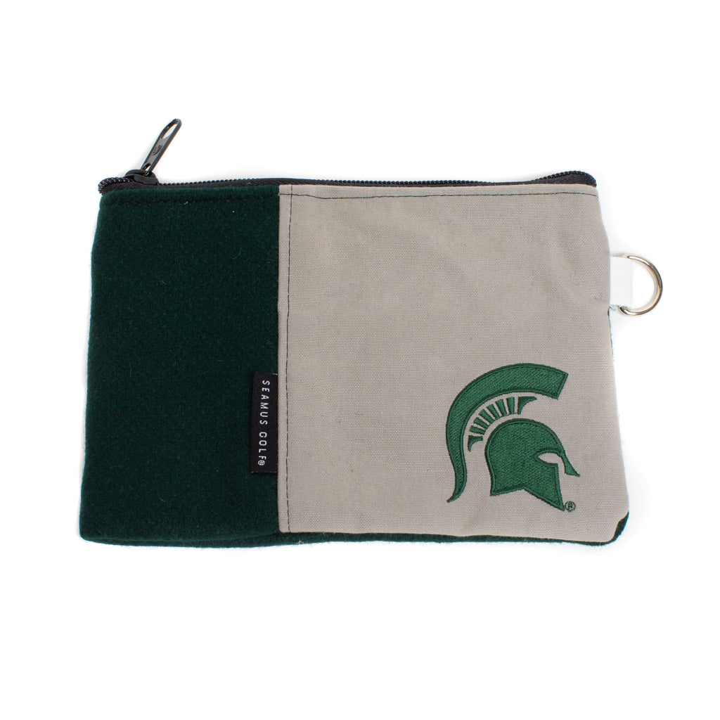 Michigan State University Zippered Pouch
