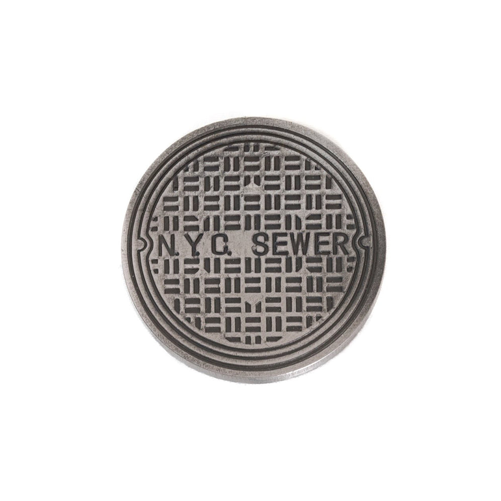 NYC Manhole Cover™ Ball Mark - Steel