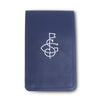 Navy Lambskin Leather Yardage Book Cover