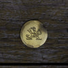"Hand Forged® University of Notre Dame ""Leprechaun"" Ball Mark - Bronze"