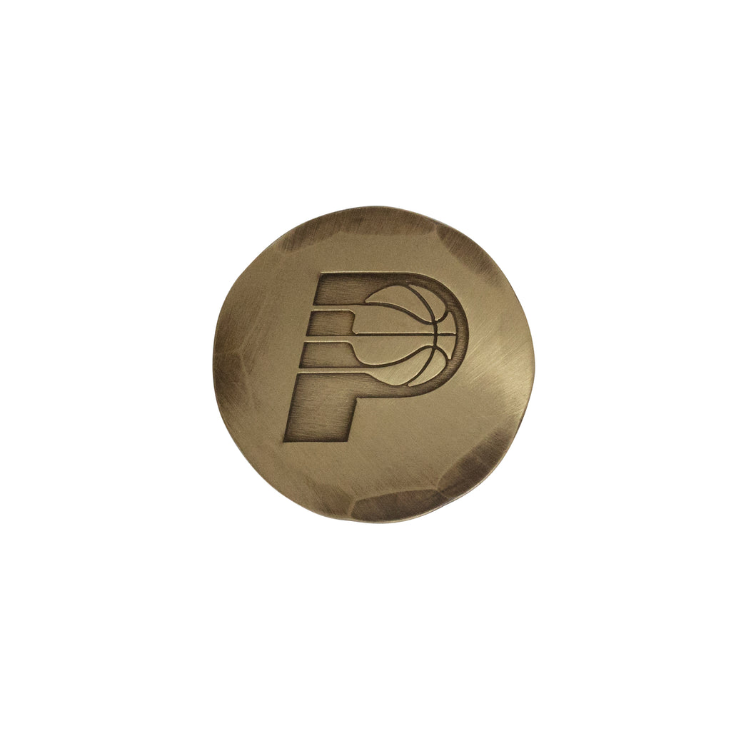 Hand Forged® Indiana Pacers Ball Mark - Bronze