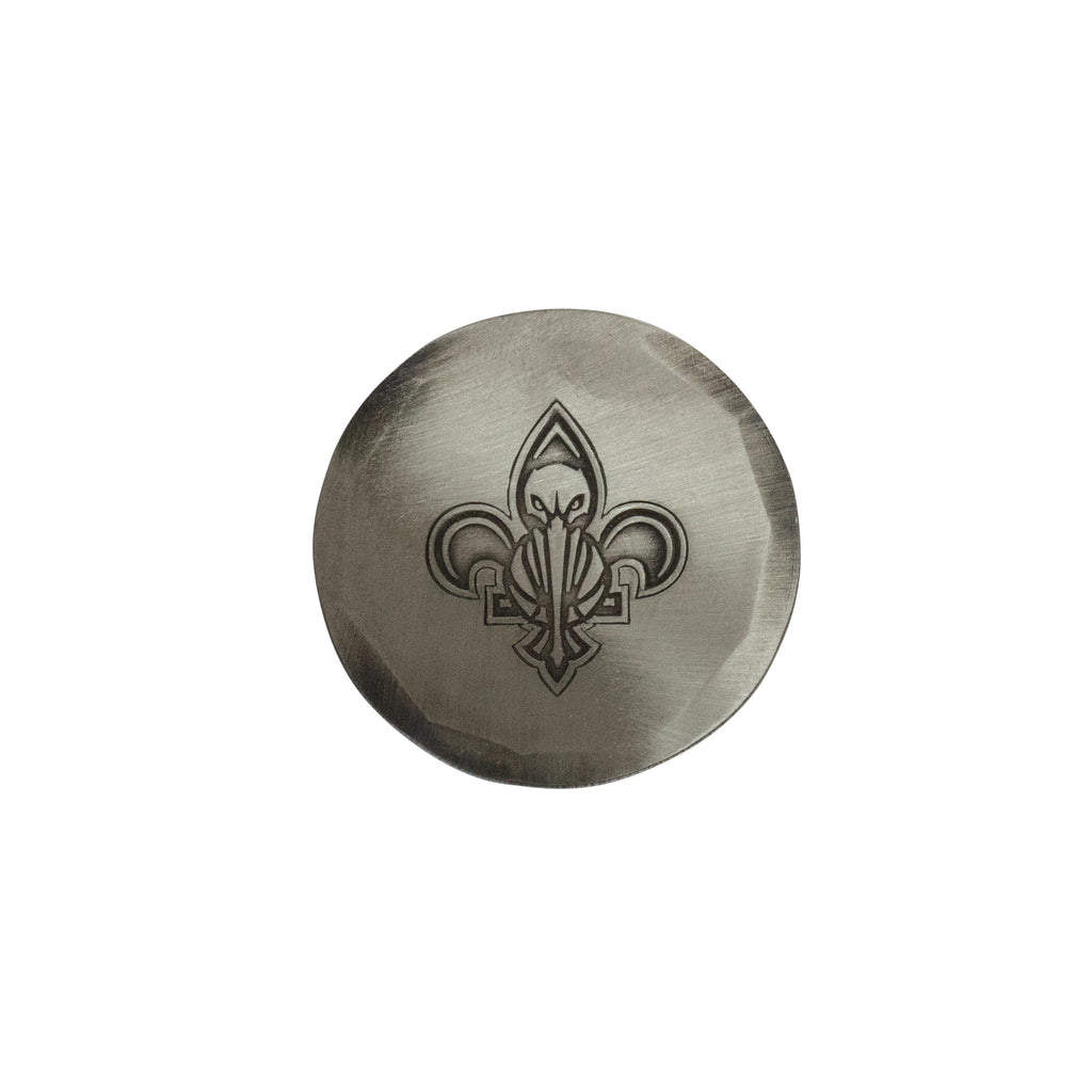 Hand Forged® New Orleans Pelicans Ball Mark - Nickel