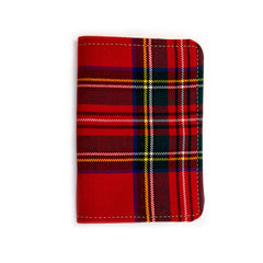 Red Stewart Tartan Field Book