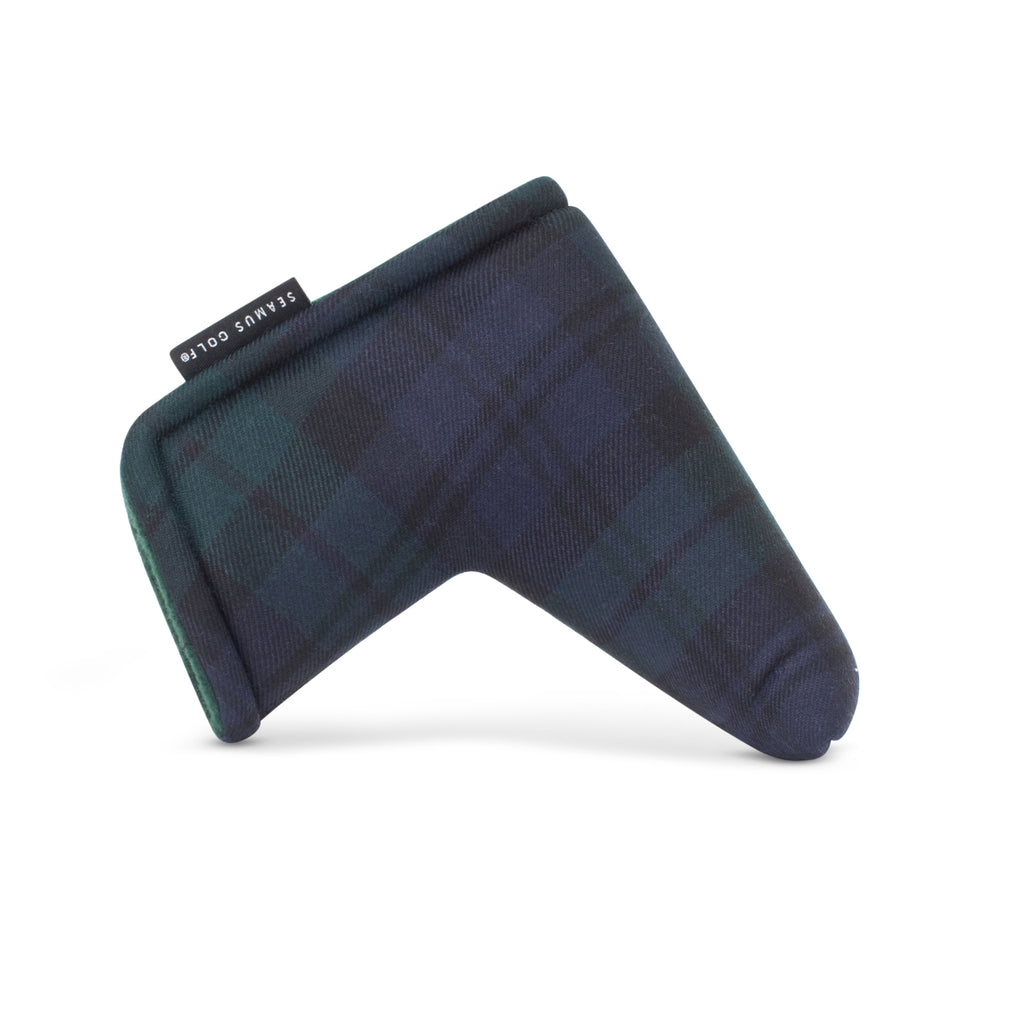 Blackwatch Modern Tartan Magnet Blade Putter Cover
