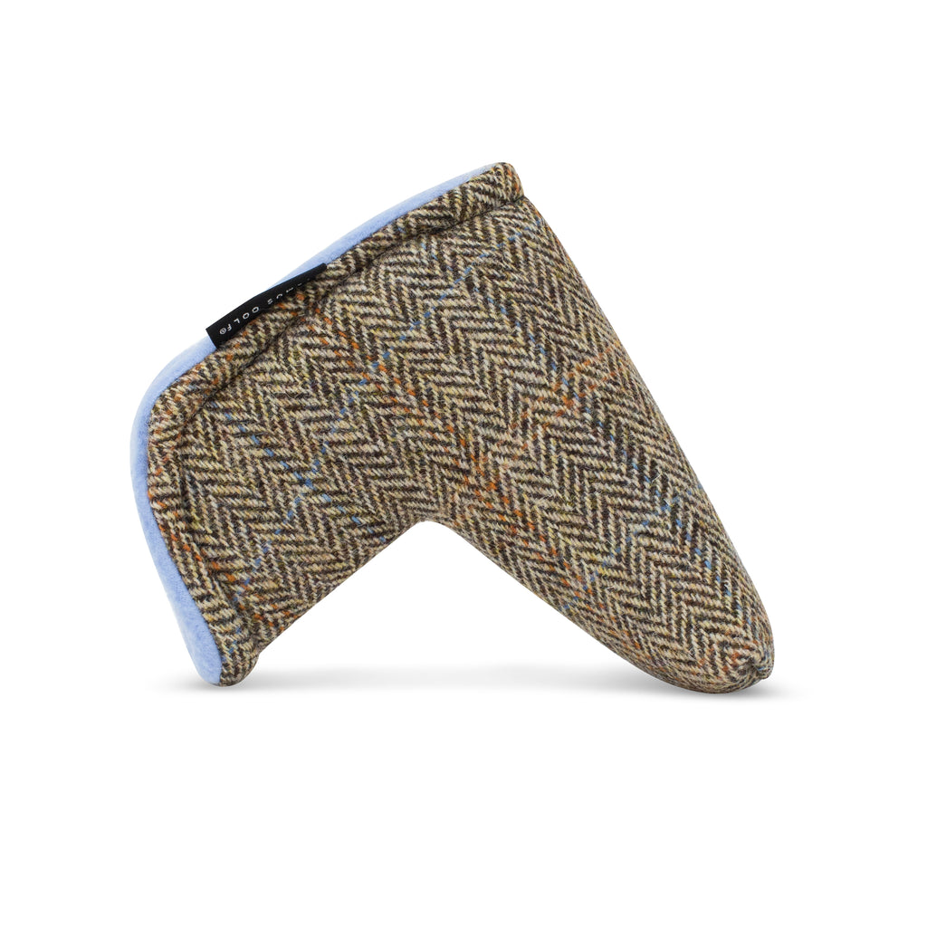 Harris Tweed Glen Plaid Magnet Putter Cover