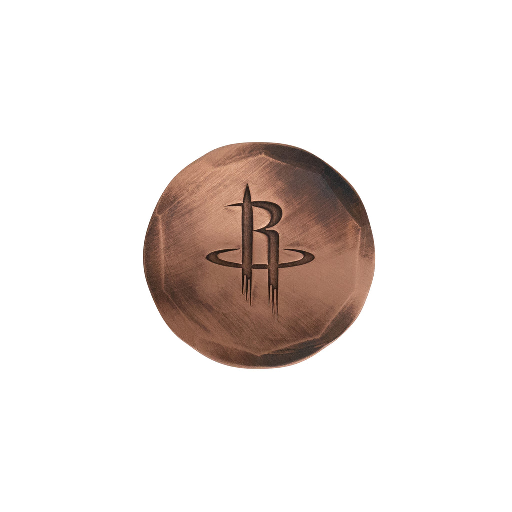 Hand Forged® Houston Rockets Ball Mark - Copper