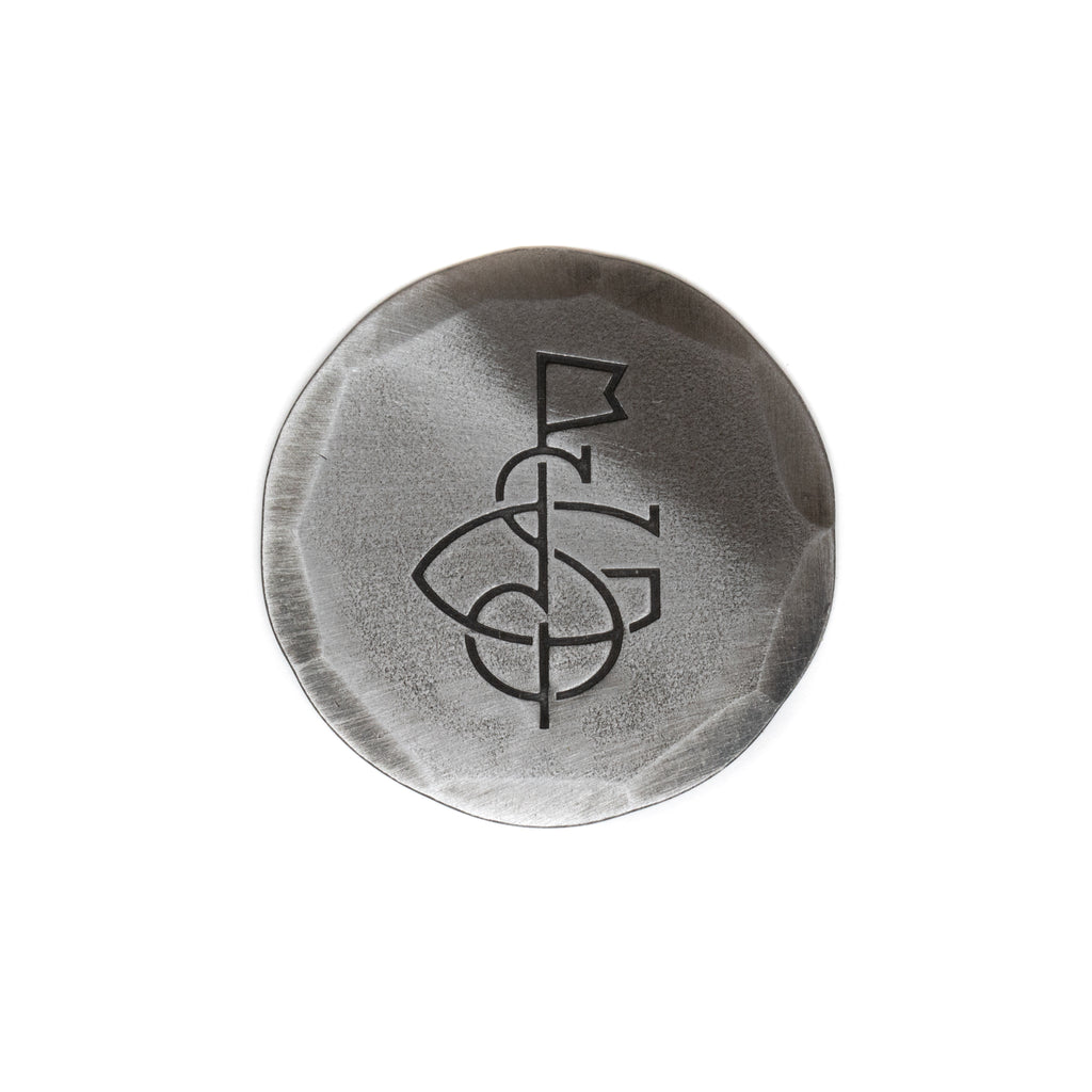 Hand Forged® Seamus Golf Monogram Ball Mark - Steel