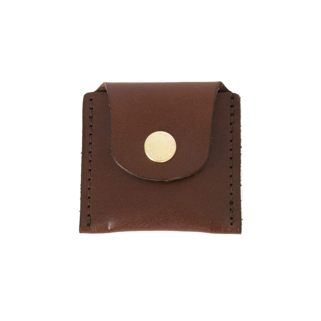 Ball Mark Holster - Chocolate Leather