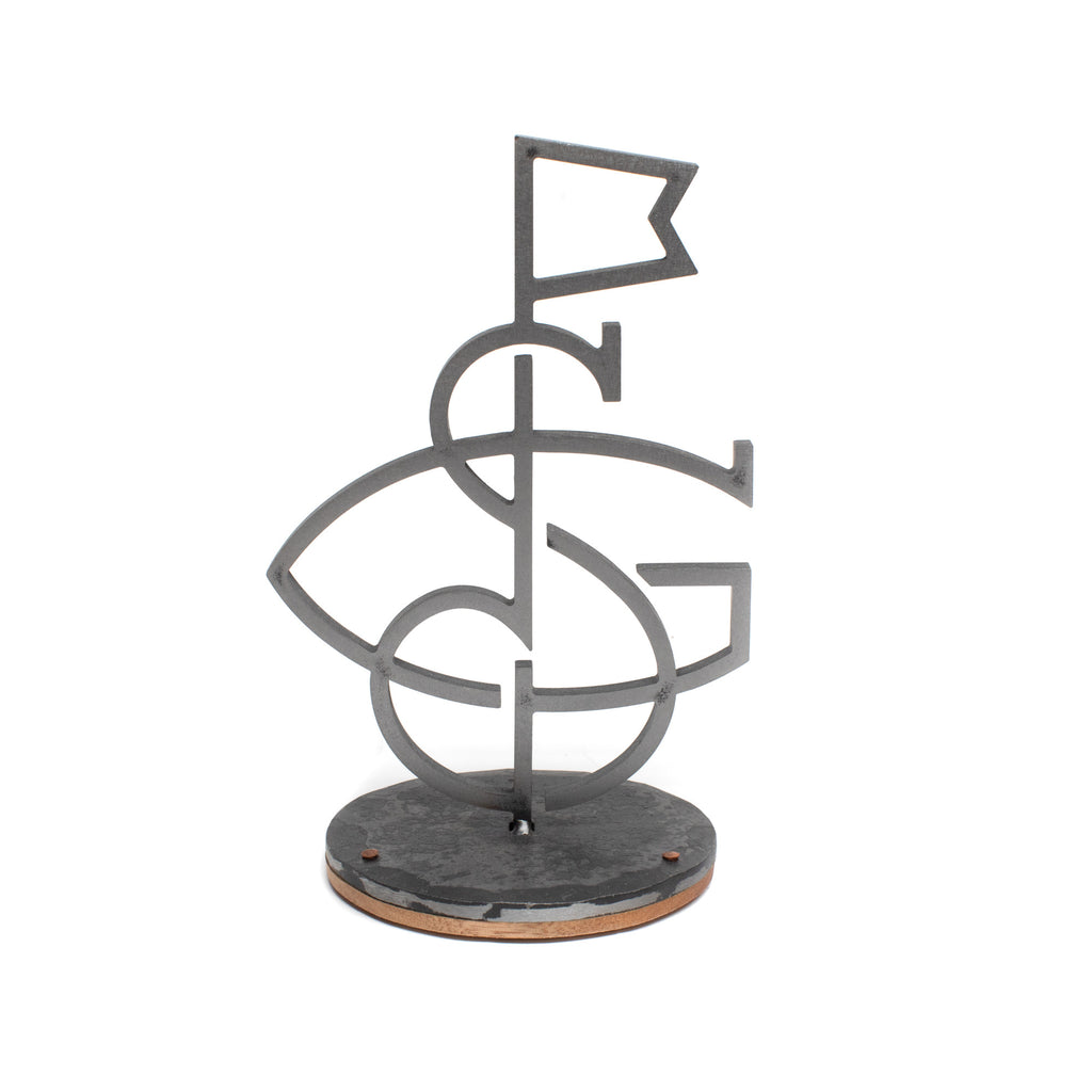 Hand Forged® Seamus Golf Desk Piece