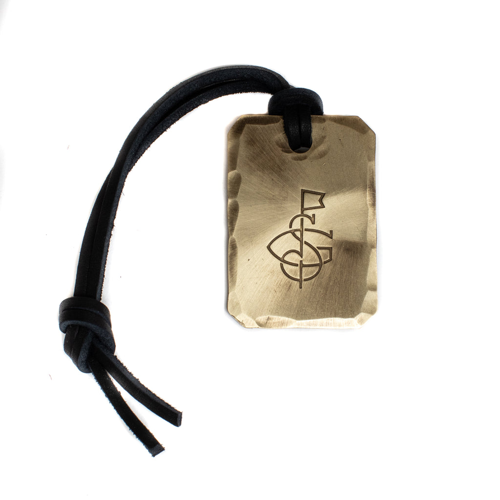 Hand Forged® Petite Bag Tag - Bronze