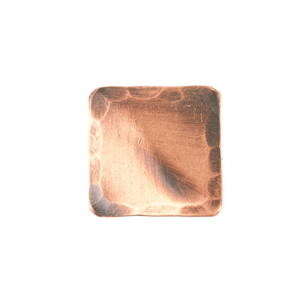 Hand Forged® Square Copper Blank Ball Mark