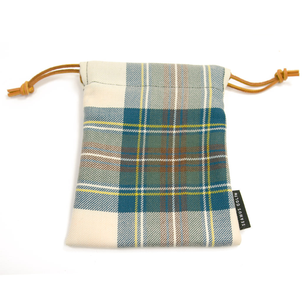 Stewart Blue Dress Tartan Pouches