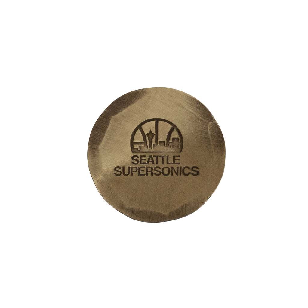 Hand Forged® Seattle SuperSonics Ball Mark - Bronze
