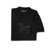 SEAMUS GOAT T-Shirt - Black on Black