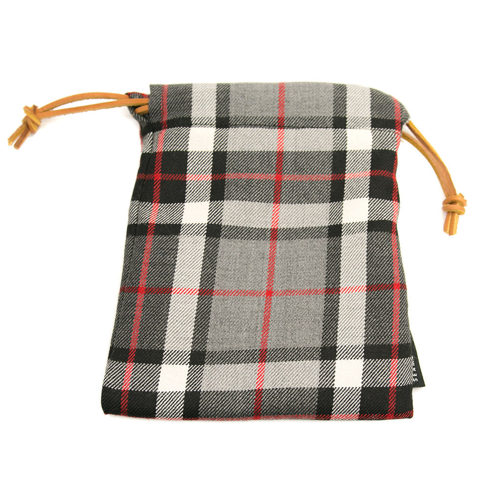 Thompson Dress Modern Tartan Pouches