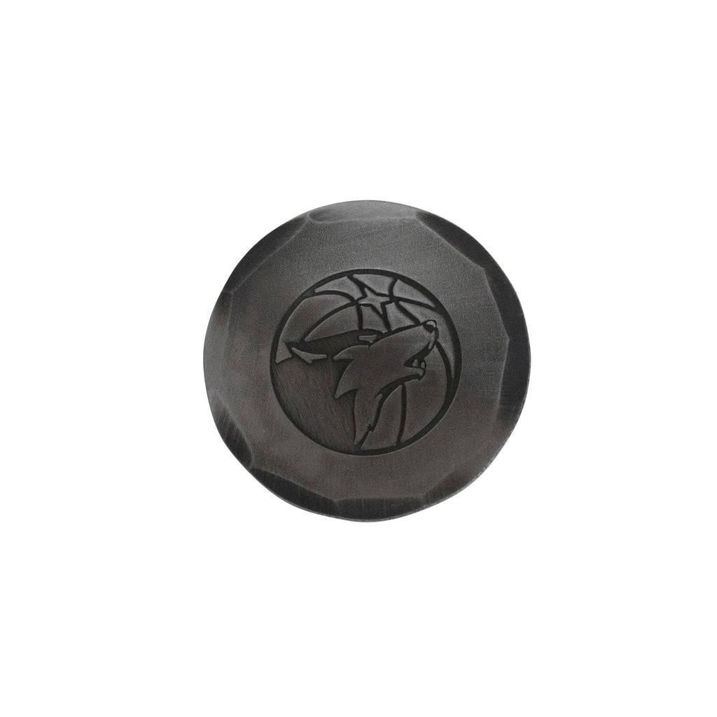 Hand Forged® Minnesota Timberwolves Ball Mark - Steel
