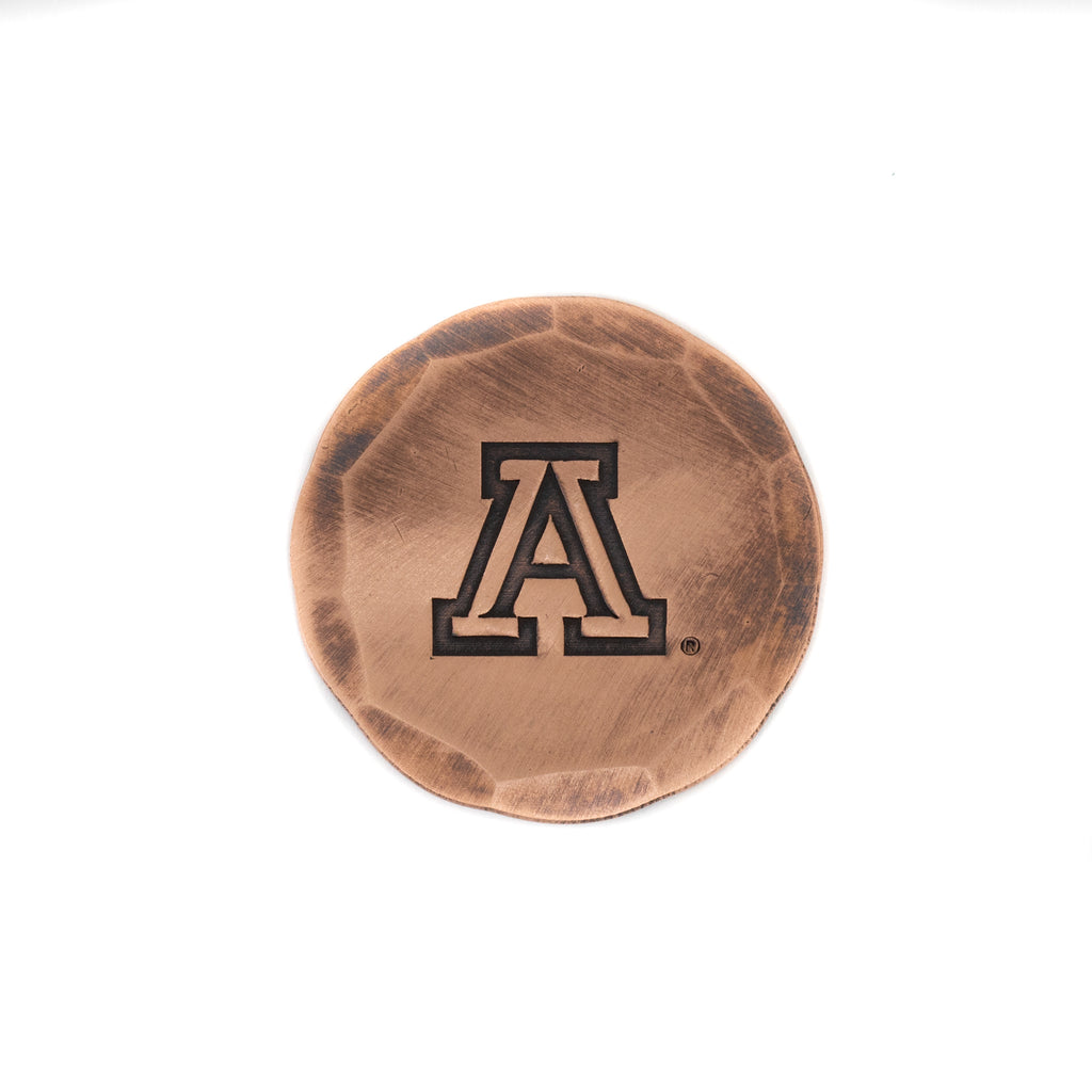 Hand Forged® University of Arizona Ball Mark - Copper