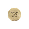 Hand Forged® University of Washington Ball Mark - Bronze