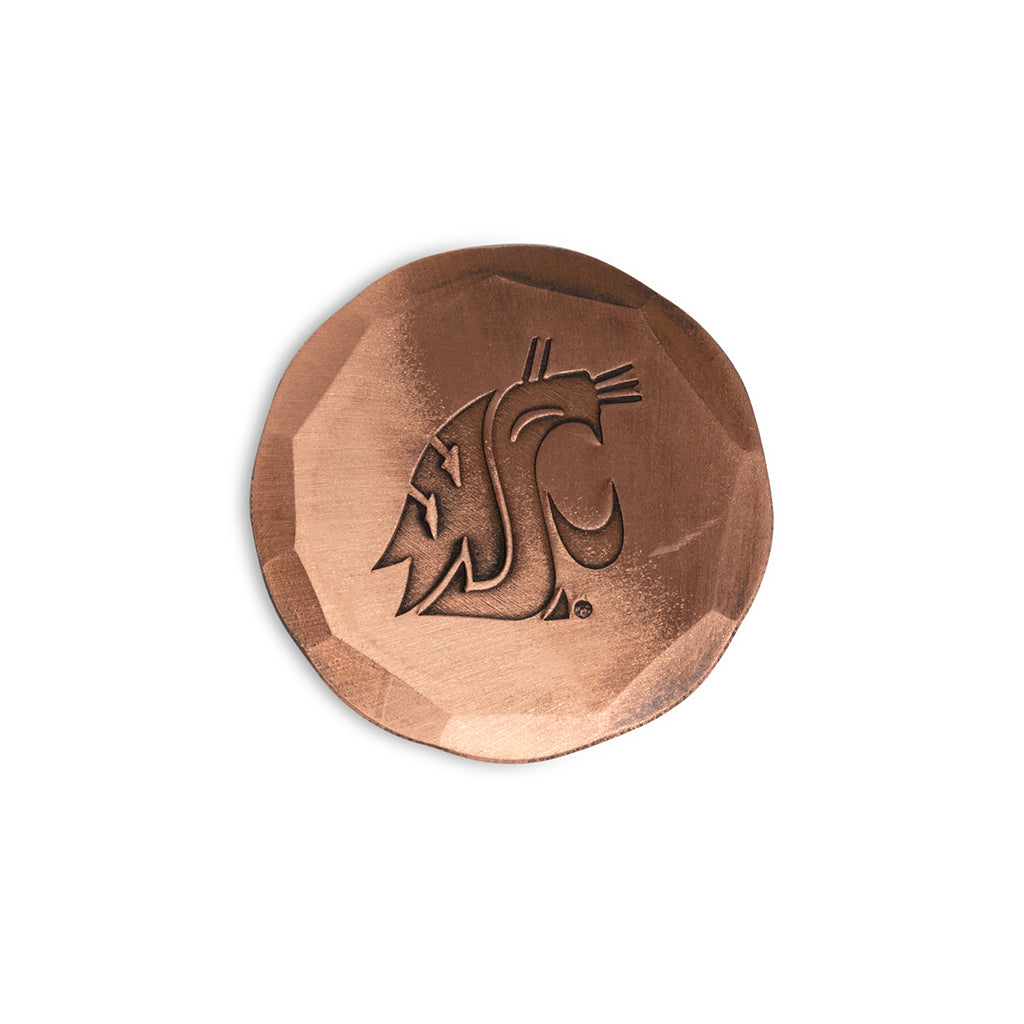 Hand Forged® Washington State University Cougar Ball Mark - Copper