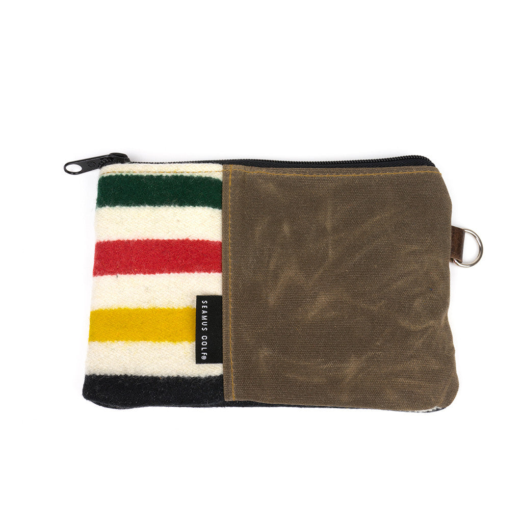 Glacier National Park Zippered Pouch