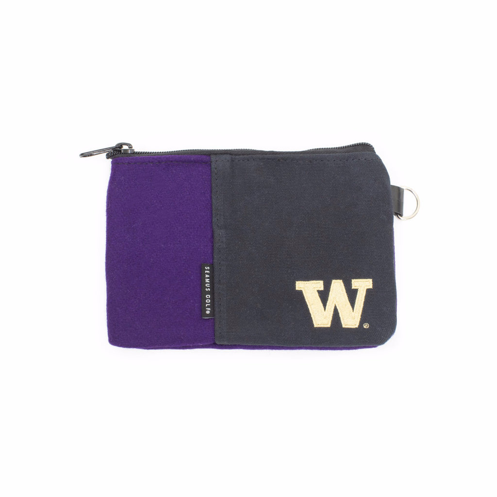 University of Washington Huskies Zippered Pouch