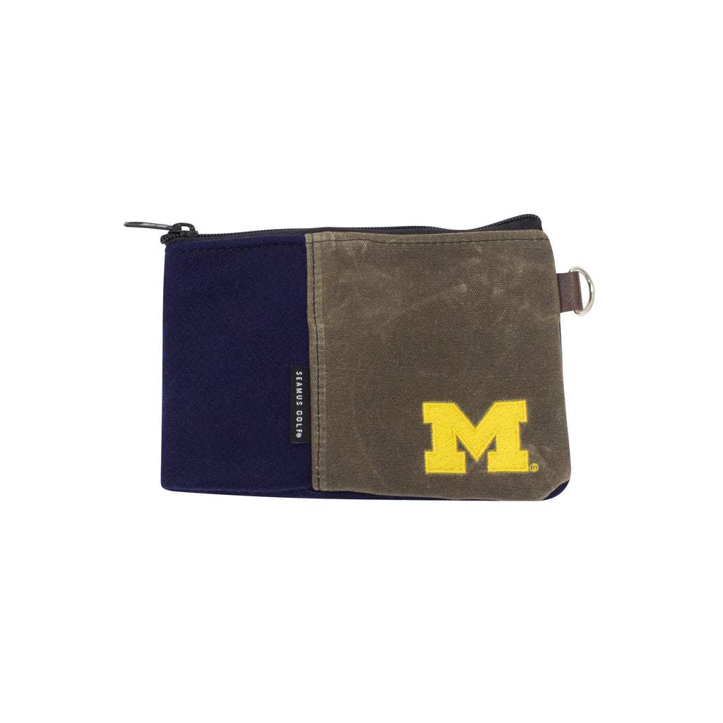 University of Michigan Zippered Pouch