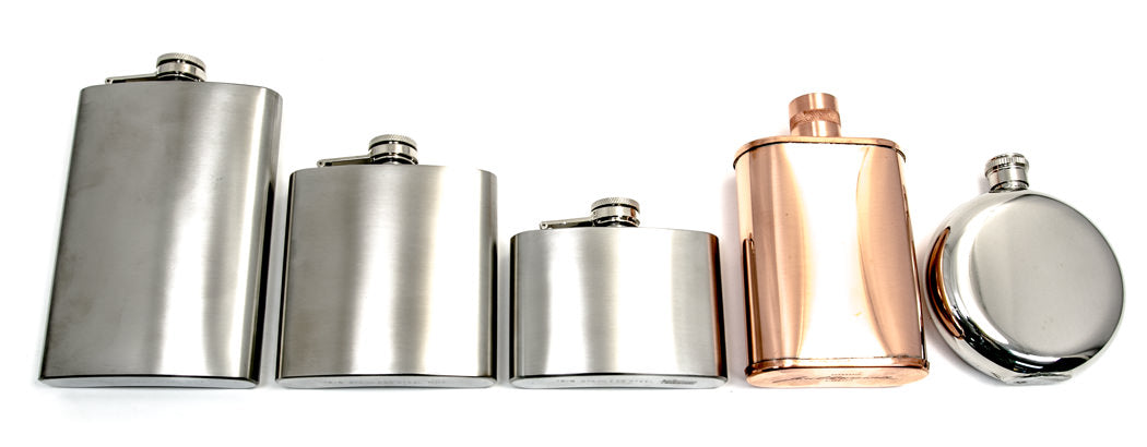 Seamus Golf Flask Sizing Chart