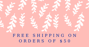 Free Shipping on orders of $50, free shipping