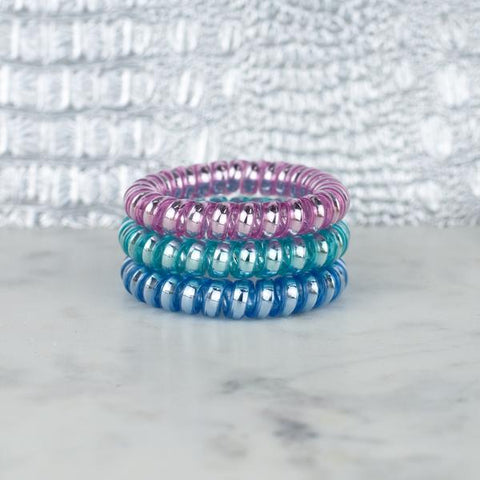 Hotline Hair Ties- Pastel  Set