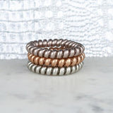 Hotline Hair Ties- Mixed Metal Set