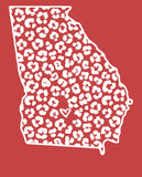 State of Ga Comfort Colors Tees-- Short Sleeved - Aero Boutique
