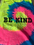 Be Kind Tie Dye Tank Top - Aero Boutique