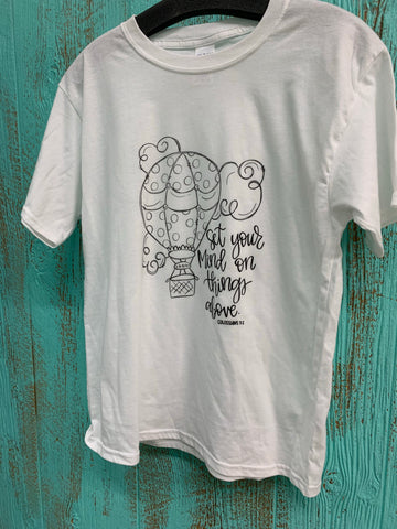 Youth Coloring Tee - Aero Boutique