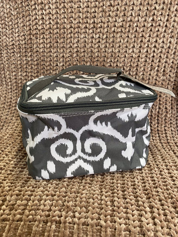 Makeup bag - Gray print