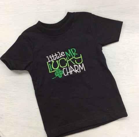 Little Mr Lucky Charm Tshirt - Aero Boutique